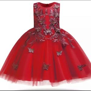 Other - Beautiful Red Princess dress